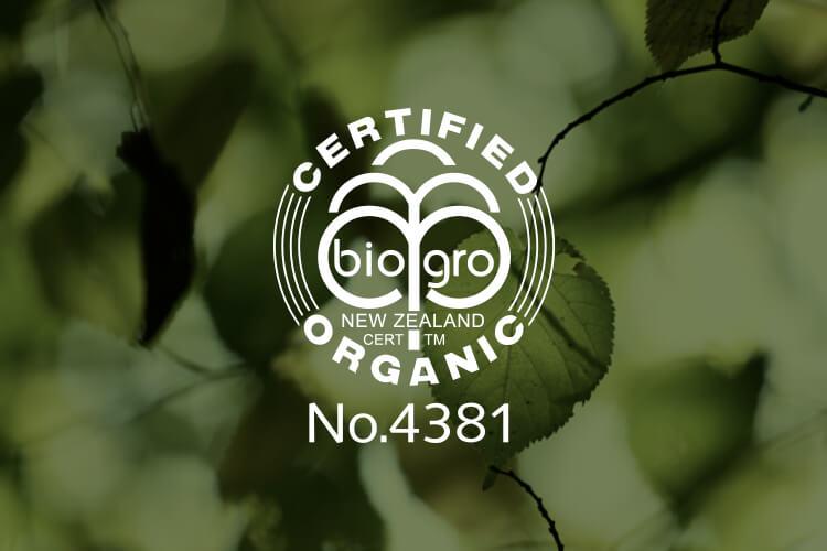 Trilogy Biogro certifikat